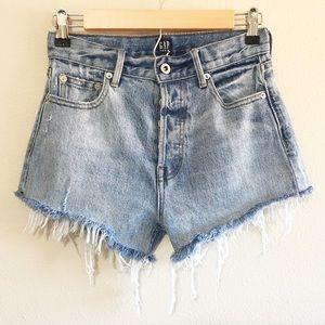 Vintage GAP Denim High Waisted Cutoff Shorts